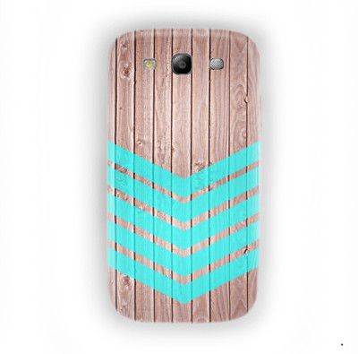 Arrow Teal Wood Iphone Cases For Samsung Galaxy S3 Case