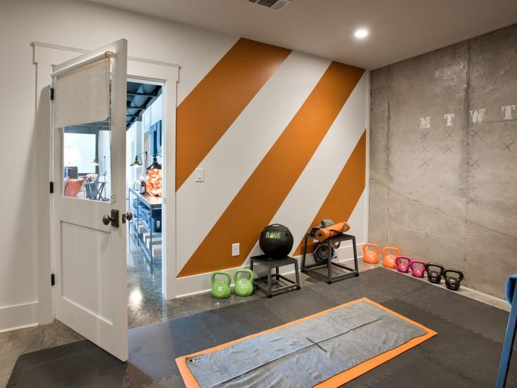 How About A Fitness/yoga Room Off Library   Basement Rec Room Pictures From  HGTV Smart Home 2014 On HGTV