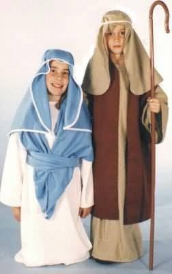 Child Small (4-6) Nativity Biblical Holiday Mary « Delay Gifts