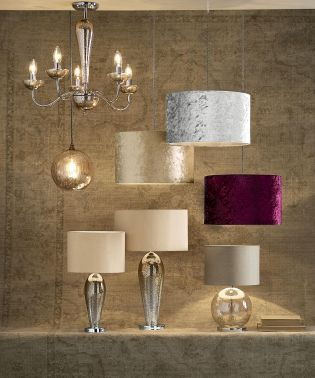 This Winter Calls For Velvet And That Should Apply To Your Lighting Too Buy Crushed VelvetGlass Table LampsLighting SolutionsLiving Room