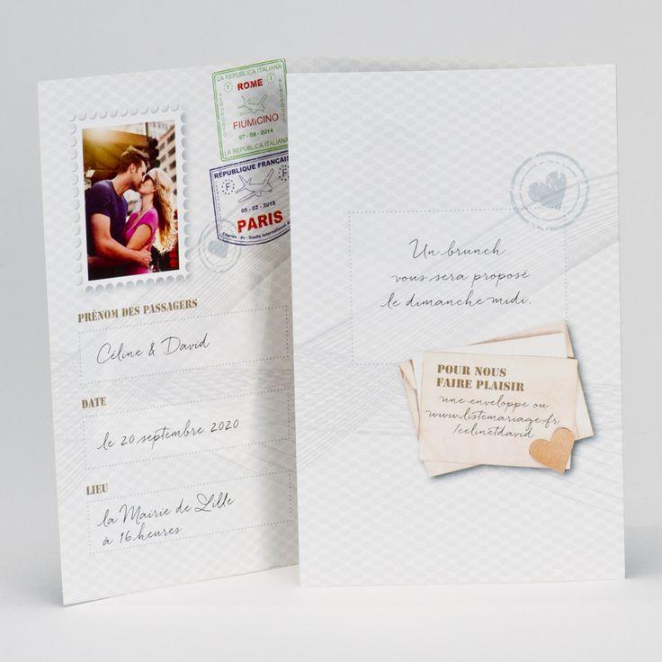 Magie des délices : Mariage Faire-part mariage passeport 74, haute Savoie, Boutique en ligne, épicerie fine, confiserie, dragées, cou