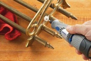Polishing using the Dremel 7300 MiniMite Cordless Rotary Tool http://rotarytoolsguide.com/dremel-7300-minimite-cordless-rotary-tool-review/