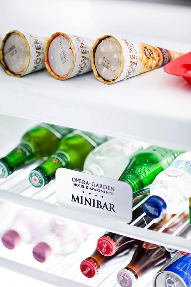 Wide choice of mini-bar items are available for reasonable price! Stay with us and enjoy!