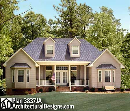 nice country home building plans. Plan 3837JA  Affordable Country Home 325 best House Plans images on Pinterest blueprints