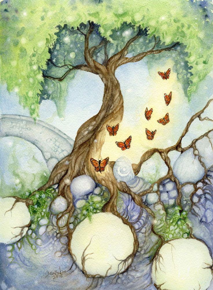 Secret Garden: 17 Best Ideas About Butterfly Tree On Pinterest