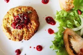 Chá & Girassóis: Toca a comer legumes: Hamburgueres de quinoa e batata doce com molho de framboesas