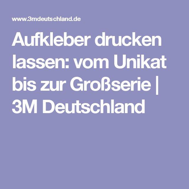 Aufkleber drucken lassen: vom Unikat bis zur Großserie | 3M Deutschland