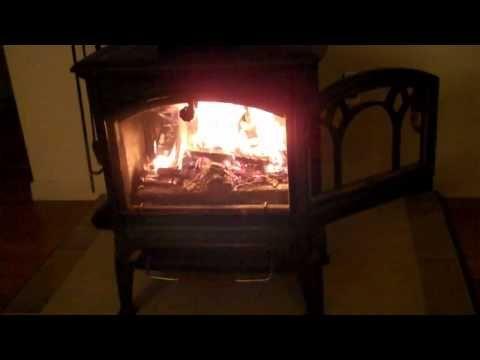Hearthstone Craftsbury Wood Stove Youtube Fireplace