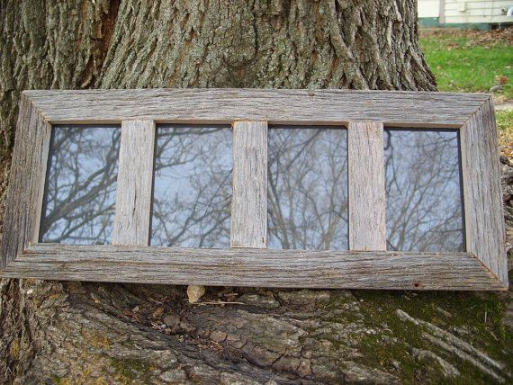 4 Panel 4x6 Rustic Weathered Reclaimed Barn by AbeMadeBarnWood, $40.00