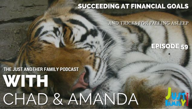 On this week's episode of the Just Another Family podcast we share some strategies you can use that will help you succeed at your financial goals and after that, stick around because if you've been having trouble sleeping we've got 5 tricks you can use to get to sleep quickly. In the good news of the week, Amanda shares a story about supermarket chain Tesco and how they're giving back to those in need by donating unsold food and finally in this week in awesome I have a video that all…