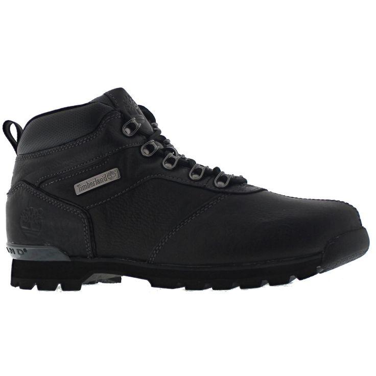 Timberland Mens Black Splitrock 2 Boots-UK 8