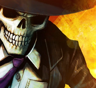 Skulduggery Pleasant. One of my favourite fictional characters. These books are so much fun!