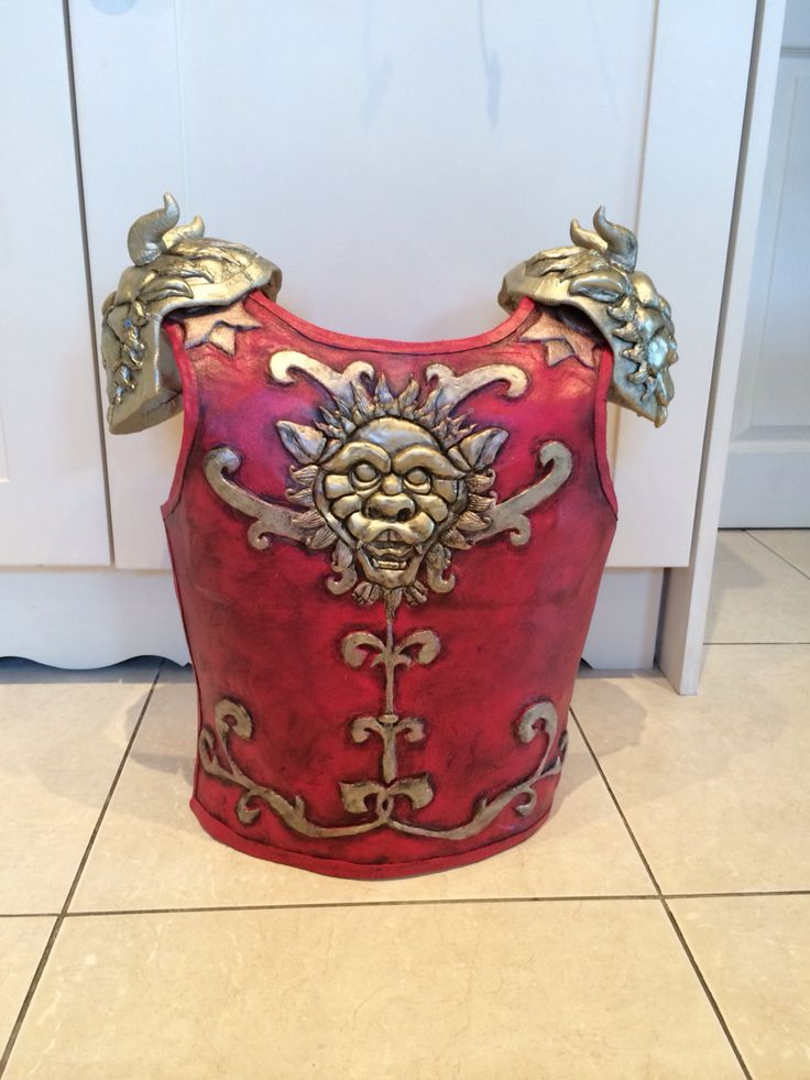 League of Legends Blood Moon Shen Painted Chest Plate