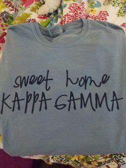 Ole Miss KKG shirt printed by JC Graphics for Kappa Kappa Gamma