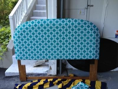 how to make a padded bed headboard