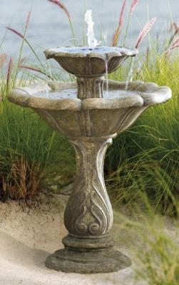 grandin road outdoor fountains