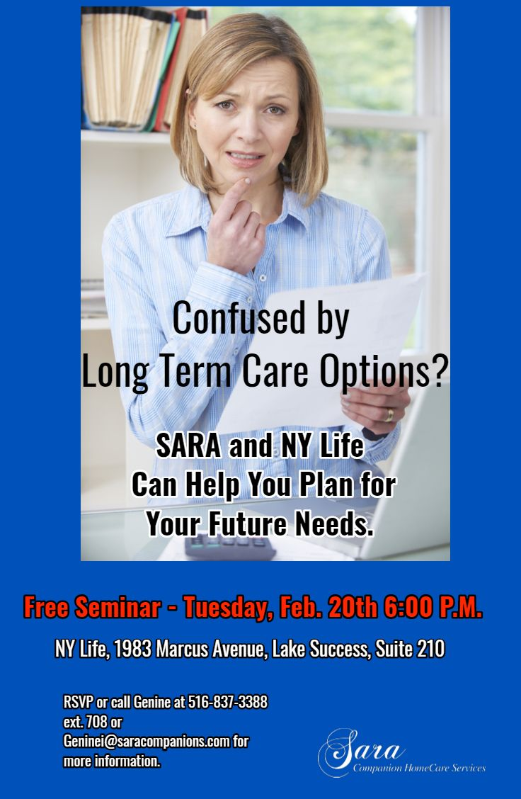 SARA and New York Life Insurance Present A Free Seminar ...