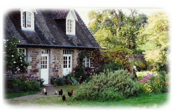 Cottage In France With Garden And Chickens Little