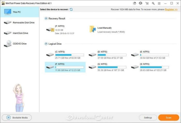 minitool data recovery free download