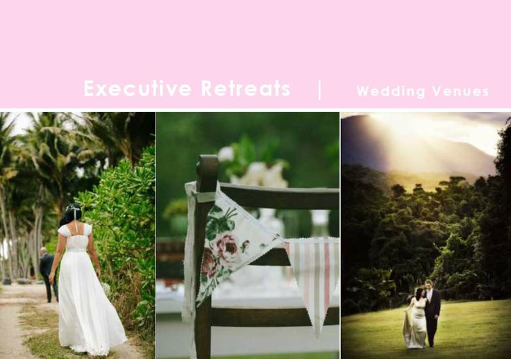 Dreaming of an unforgettable location for your wedding?  www.executiveretreats.com.au