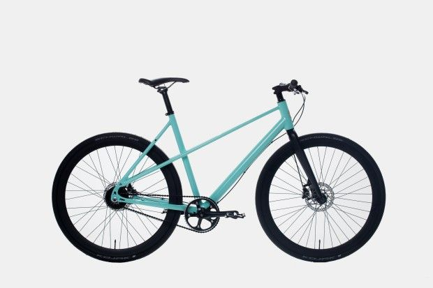 The ultimate electric bike for the urban commuter. It takes you further without…