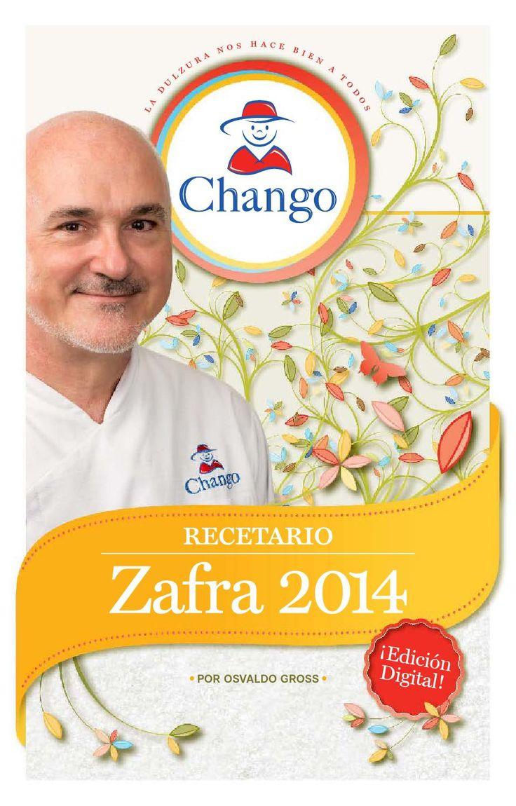 Recetario - Chango zafra 2014