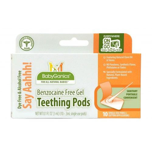 Say Ah Teething Gel by BabyGanics at BabyEarth.com, $7.95
