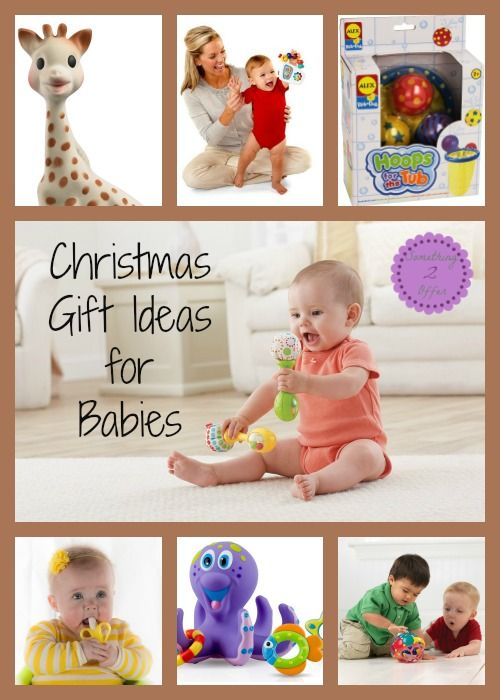 Christmas Presents for Birth to 6 Months + Ultimate Baby Giveaway