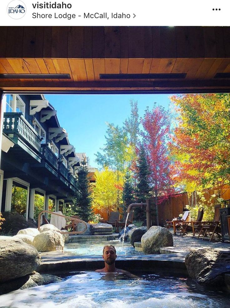 Shore Lodge, McCall, Idaho in late September