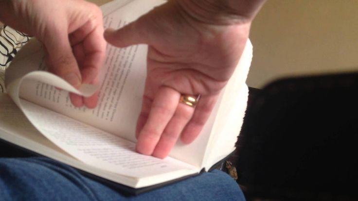 Book folding technique
