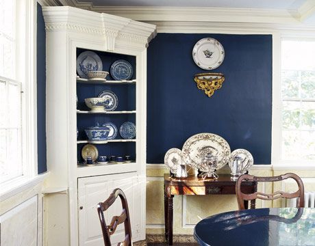 Color Inspiration Color Blue Blue Paint Colors Dining Room Colors