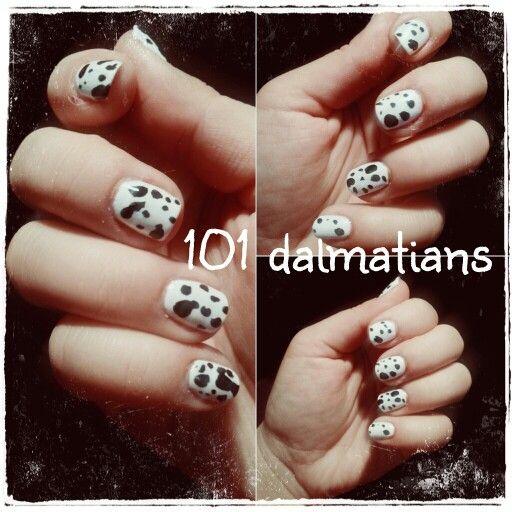 101 dalmatians nail art  NYC 032-Bianco p2 500-eternal