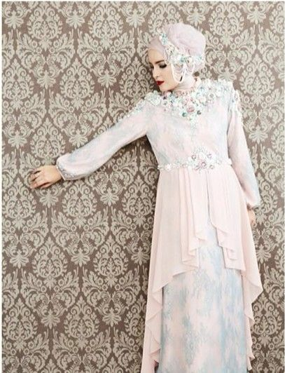 #dress #brides #party #hijab