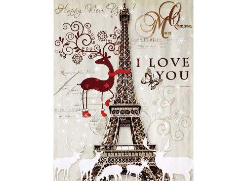 «Новогодняя Эйфелева башня»
