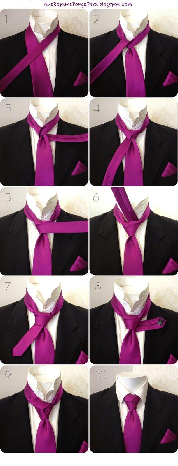 Nudo de corbata Trinity - Tie the knot trinity - TREBOL - Nudos de corbata innovadores y juveniles