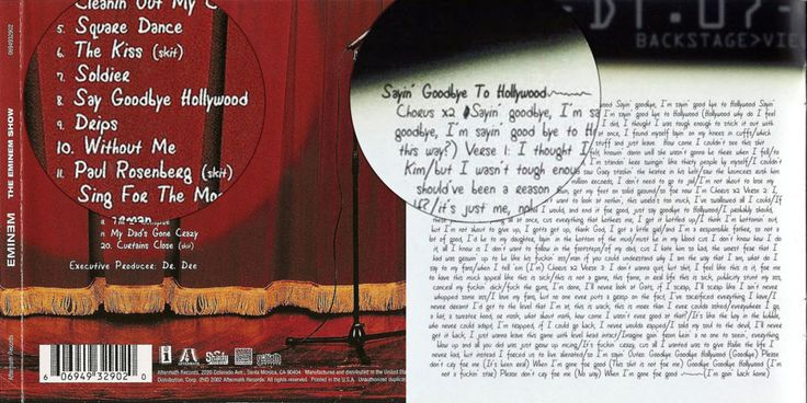 Eminem – Say Goodbye To Hollywood Lyrics | Genius