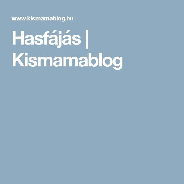 Hasfájás | Kismamablog