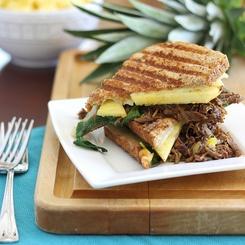 Panini Carnitas y Piña: Dinner, Carnitas Pineapple, Cheese Melt, Food, Savory Recipes, Paninis, Favorite Recipes, Pineapple Panini, Holy Deliciousness