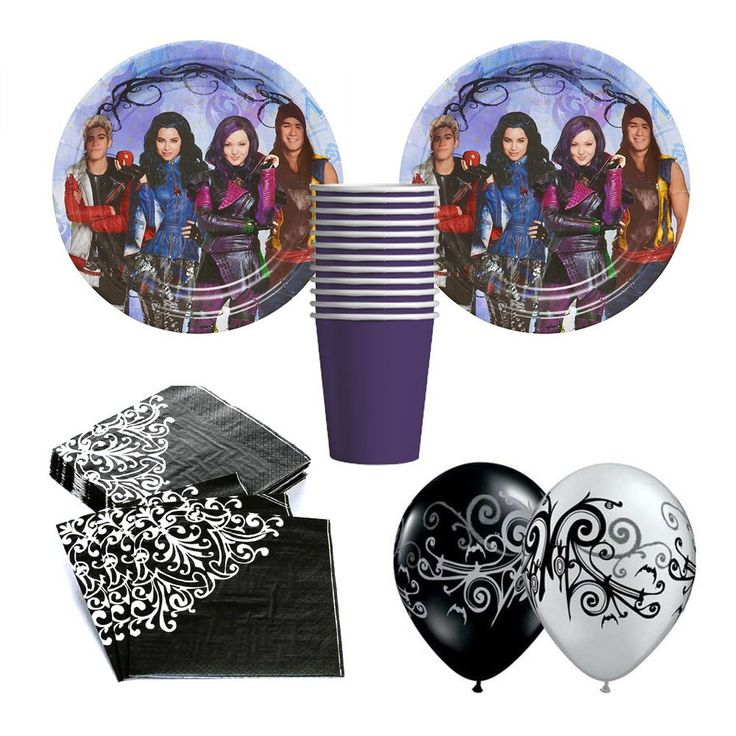 Disney Descendants Birthday Party Ideas and Themed Supplies | Birthday Buzzin