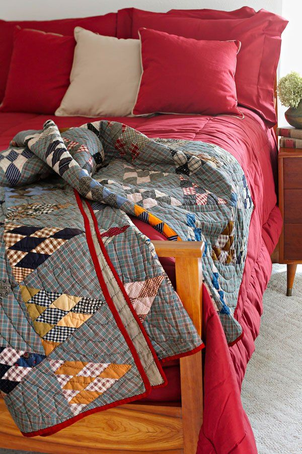 This century-old quilt is a scrap-lovers dream.