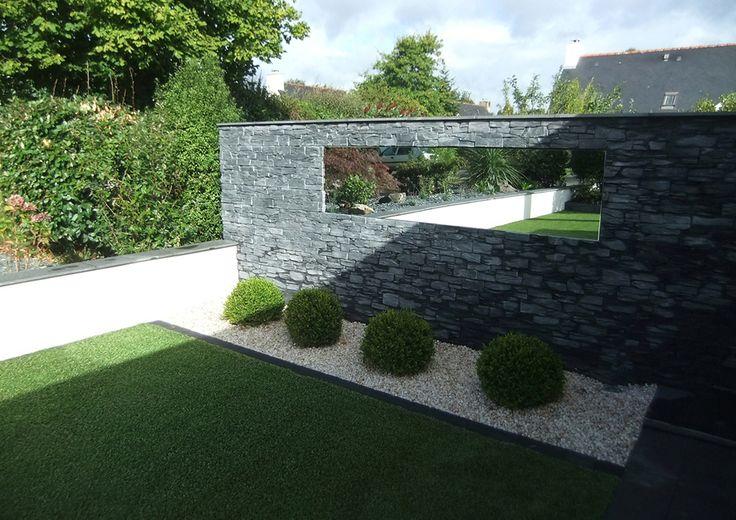 14 best jardins modernes images on Pinterest | Bretagne, Creation de ...