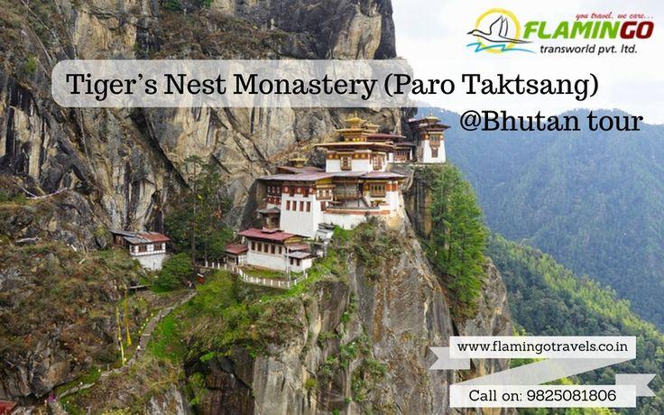 Visit Paro Taktsang monastery of #Bhutantourpackages http://goo.gl/hUUVtD