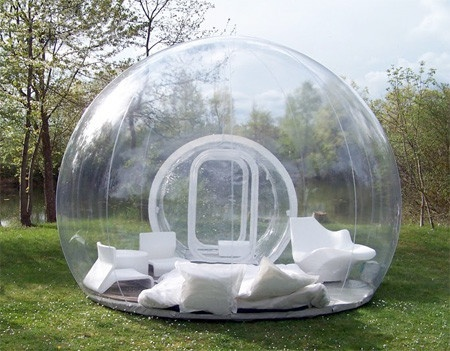 i could go camping with this :)
