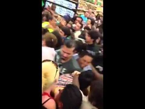 Shopper Riots from Black Friday 2013 - video click to view.