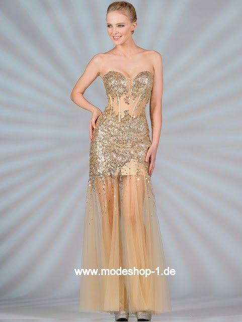 Golden Abendkleid 2018