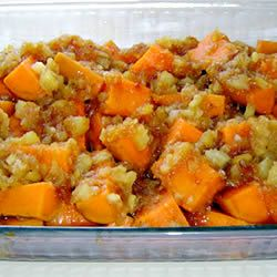 "Pineapple Sweet Potatoes | ""Very good and easy! I made this for the In-Laws at Christmas. The dish received rave reviews."""