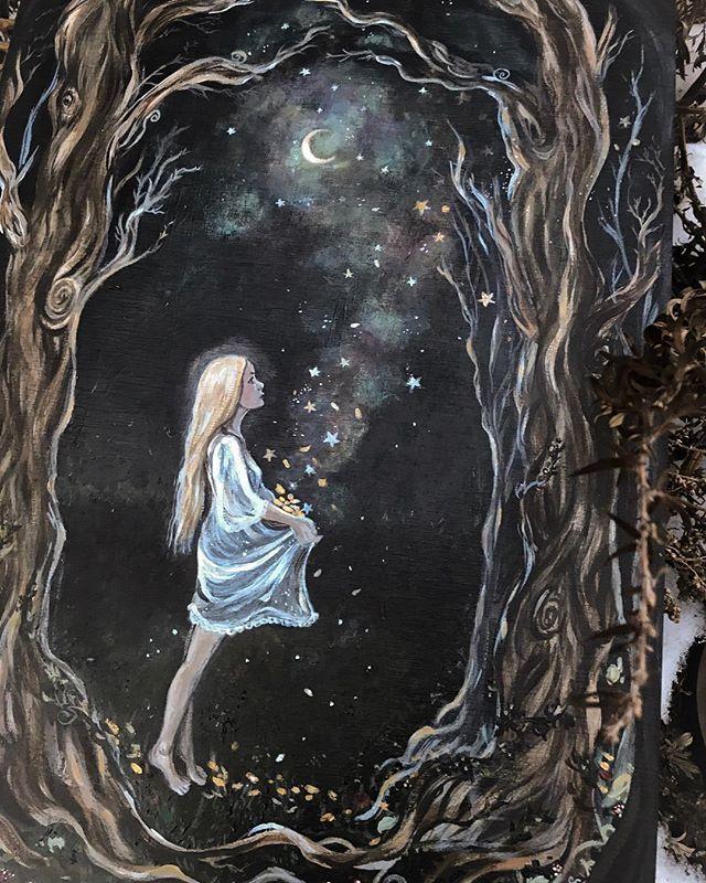 Clarissa Carta Ladysweetclarissa Foto E Video Di Instagram Fairytale Art Moon Art Whimsical Art