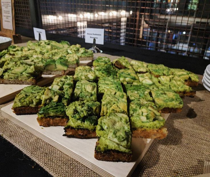 Avocado Toast with Green Garbanzo Hummus at @craftbeermarket! At the opening of their new downtown Toronto location. #toronto #avocadotoast #craftbeermarket #greenhummus
