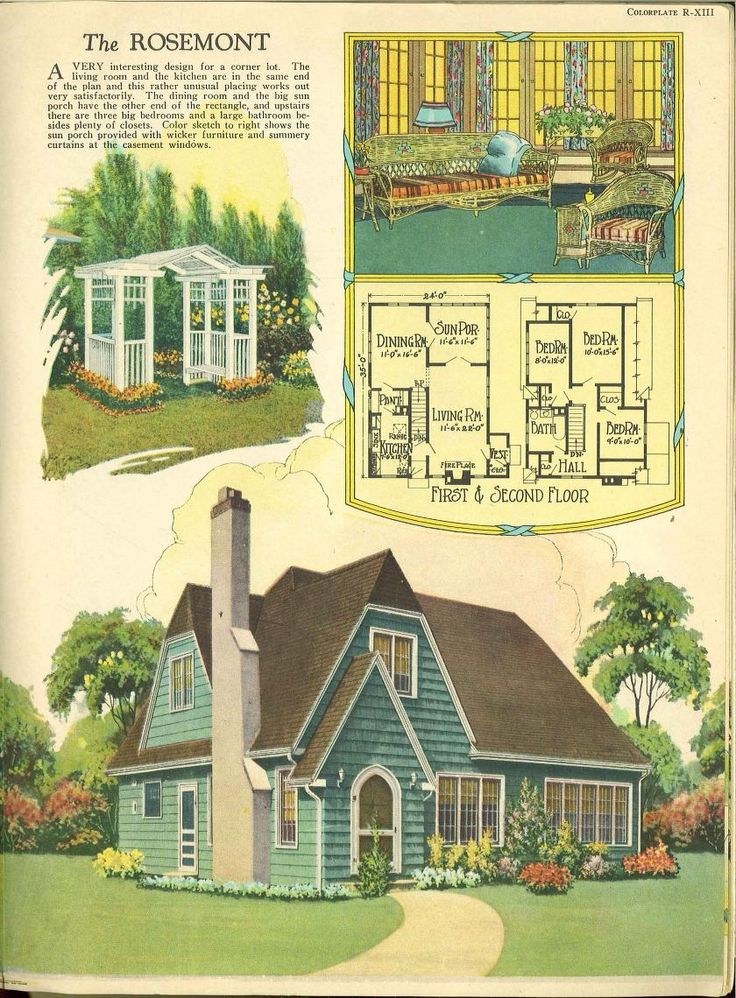 Vintage Farmhouse Plans 1017 best vintage house plans~1920s images on pinterest | vintage