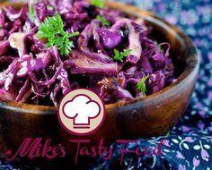 Insalata di cavolo rosso, noci e uvetta sultanina – Mike's Tasty Food
